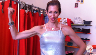 Not only is Alysia Reiner an awesome actress; she's a super greenie with excellent taste. Which is why she's the perfect partner for a clothes swap to shop!
