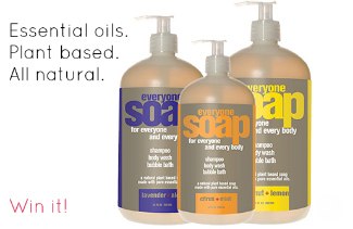 organic essential oil based shampoos in big bottles