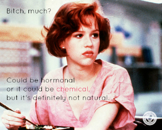 "Molly Ringwald in ""Pretty in Pink"" movie"