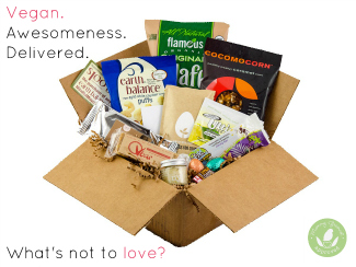 """We've tried veganism, on and off—mostly off, because my kids won't eat """"weird"""" stuff. But there's nothing weird about this delicious Vegan Cuts Snack Box."""