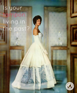 African American model in white wedding dress in a 1950s styled room