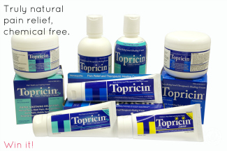 topricin natural pain relief product grouping