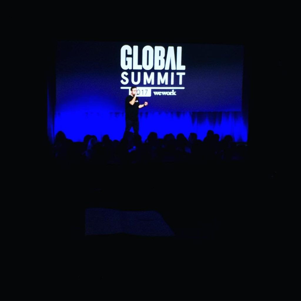 Wish me luck! 1700 people gulp weworkglobalsummit2017 wework 5gyres 5gyreshellip