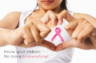 Know your ribbon. No more pink washing!