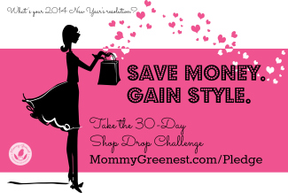 silhouetted illustrated woman against pink background holding a bag from which hearts are emerging