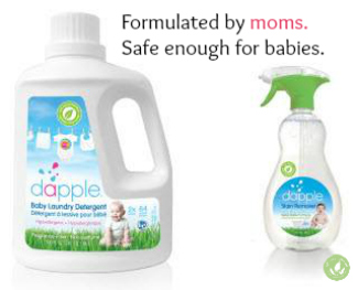 laundry products against white background