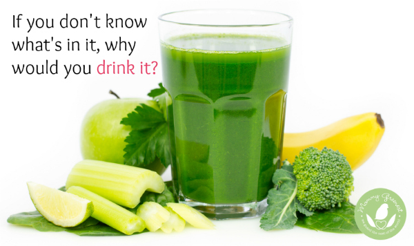 green raw juice