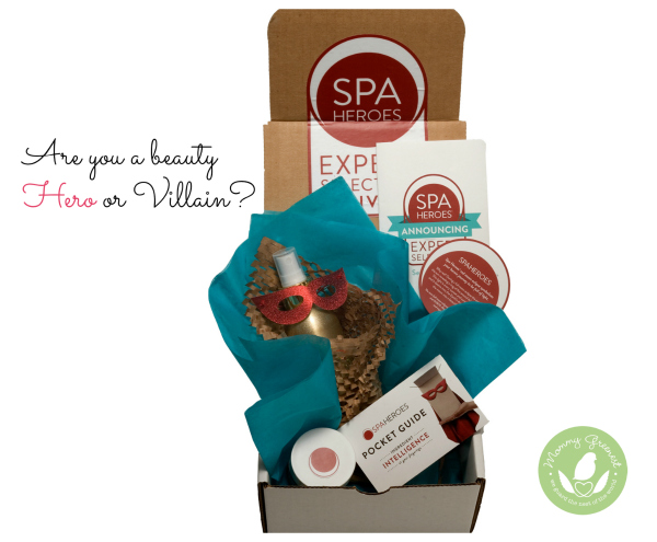 Photo of natural beauty subscription box