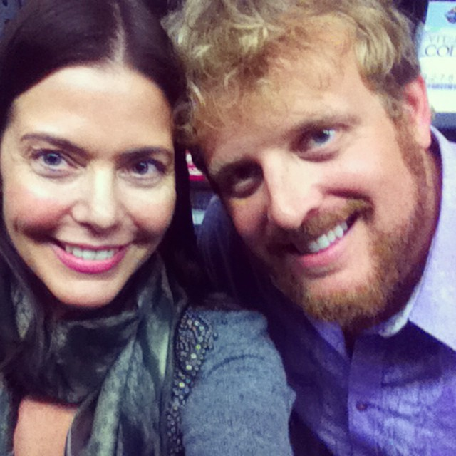 Hey @jeremiahmcelwee so great to talk with you @thrivemarket launch! #organic #eco #green