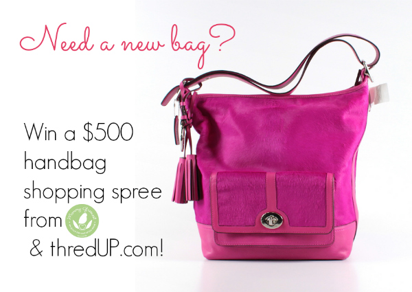 free handbag pink coach bag