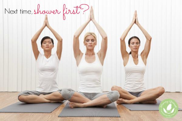 mommy greenest bad habits yoga photo