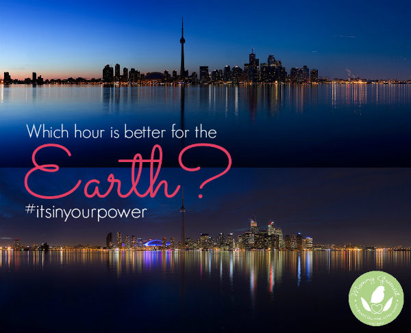 Toronto goes dark during Earth Hour