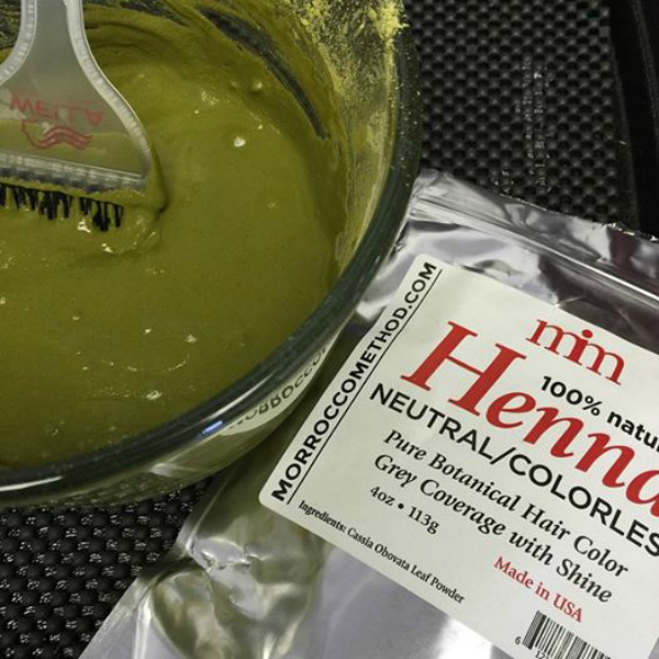 mommy greenest natural hair color henna dye mixture
