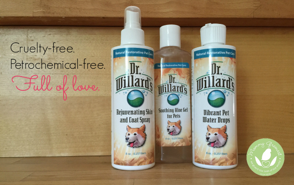 Mommy Greenest Approved Dr. Willard's Natural Pet Care Products