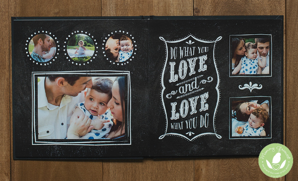 mommy greenest pregnancy book example photo chalk