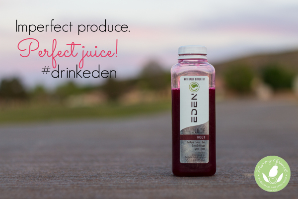 raw juice made of beets on open road