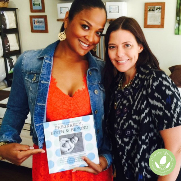 Laila Ali at Mommy Greenest Pregnancy book launch