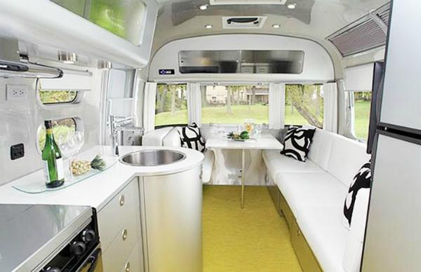 Tesla electric car mobile home