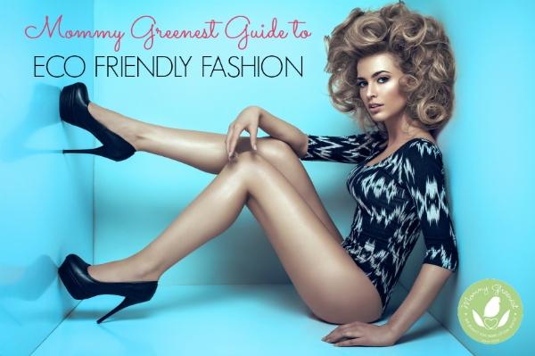 eco friendly fashion model in black high heels against blue walls