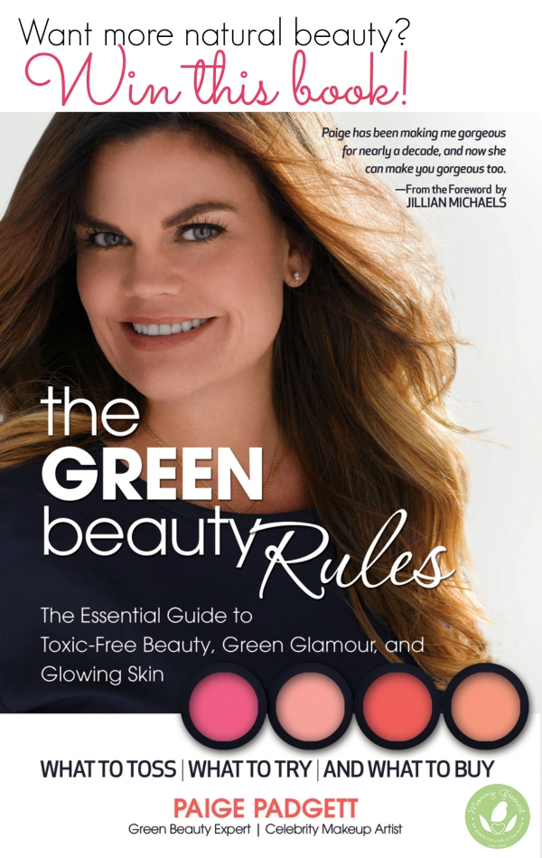 Green beauty makeup artist Paige Padgett book cover