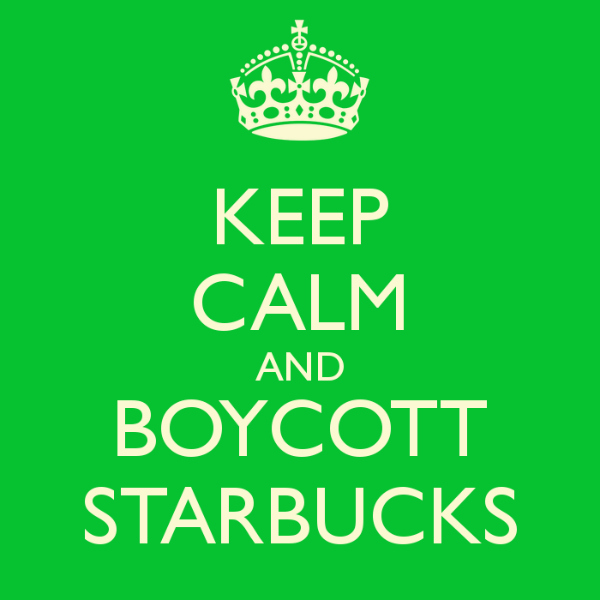 mommy greenest boycott starbucks eco resolution