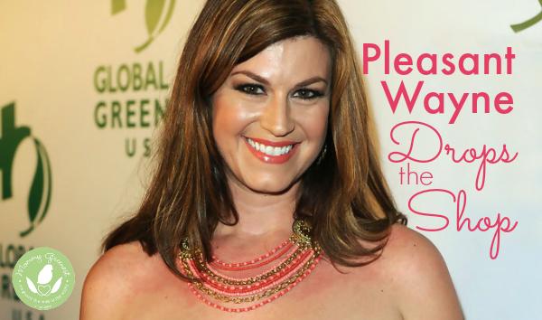 actress pleasant wayne from entourage on eco fashion