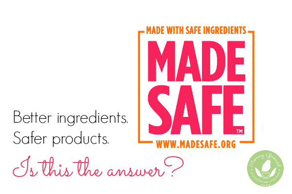 made safe product label