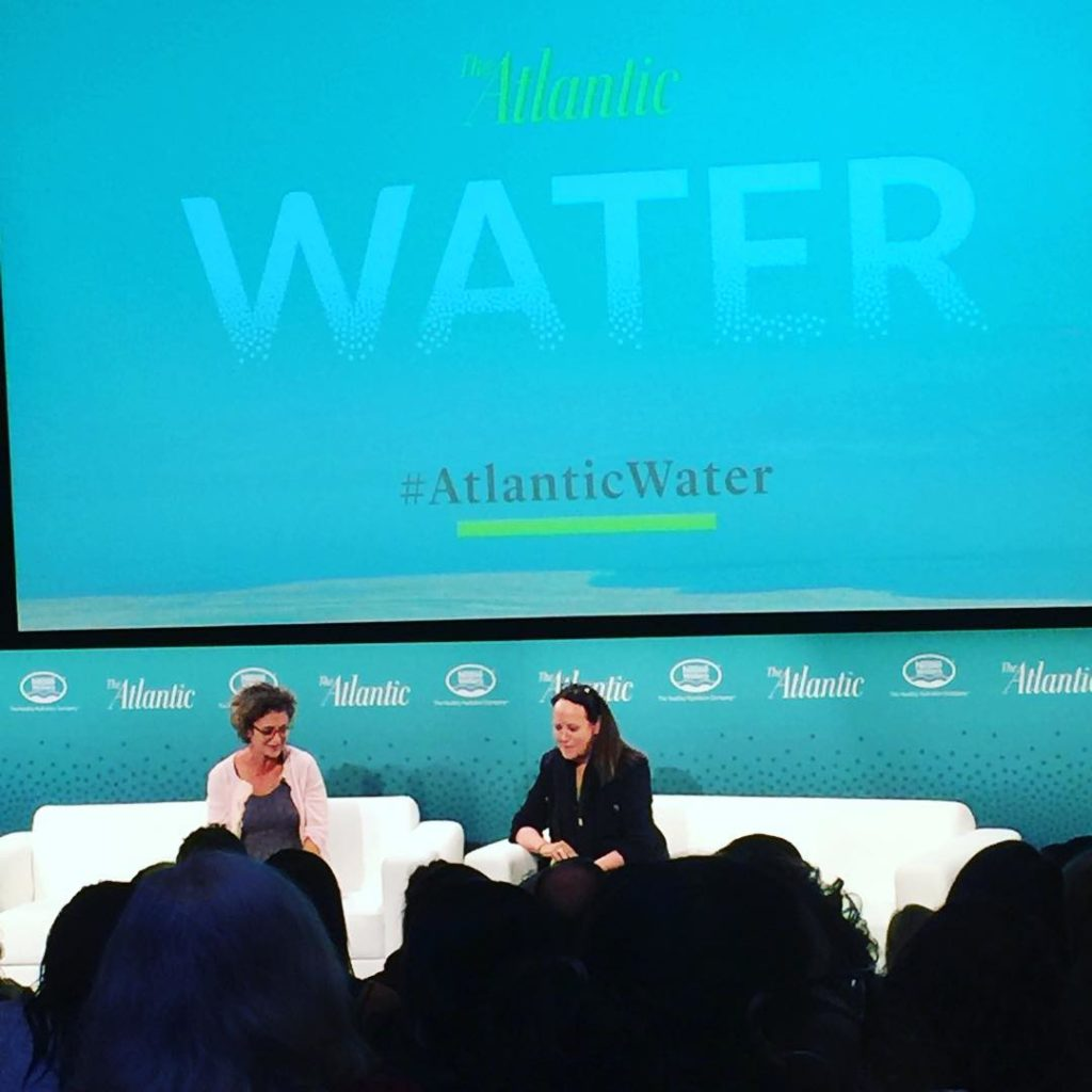 Gr8 convo with feliciamarcus kpccalex AtlanticLIVE AtlanticWater session WATCH LIVEhellip