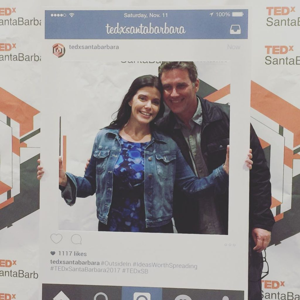 Last one promise! With kevinsarnoff who is my everything tedxsantabarbarahellip