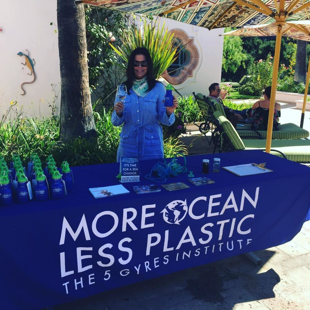 Double fisting rosenthalwines plasticfree event! 5gyres moreoceanlessplastic Thank you amazinghellip