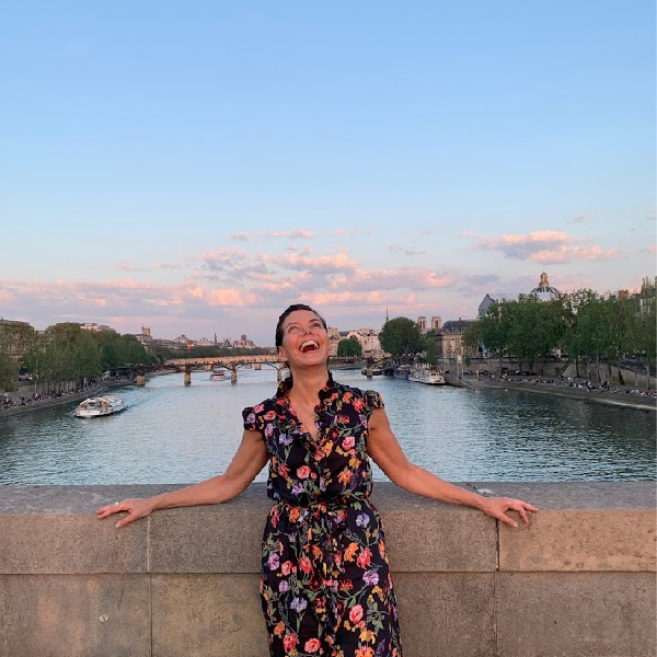 Rachel Lincoln Sarnoff in Paris